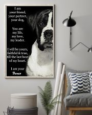 I Am Your Friend Your Partner Your Dog Boxer 11x17 Poster lifestyle-poster-1