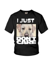 I Just Don'T Care Labrador Retriever Youth T-Shirt thumbnail