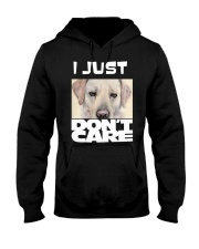 I Just Don'T Care Labrador Retriever Hooded Sweatshirt tile