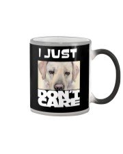 I Just Don'T Care Labrador Retriever Color Changing Mug thumbnail