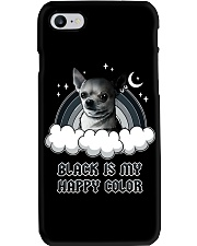 Black Is My Happy Color chihuahua Phone Case thumbnail