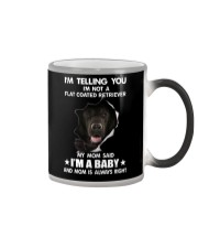 Im telling you im not a flat coated retriever  Color Changing Mug thumbnail
