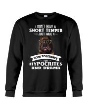 Pitbull I Don't Have A Short Temper Crewneck Sweatshirt thumbnail