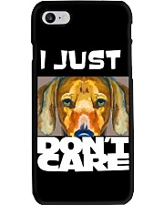 I Just Don'T Care Dachshund Dont Care 1 Phone Case thumbnail