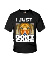 I Just Don'T Care Dachshund Dont Care 1 Youth T-Shirt thumbnail