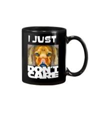 I Just Don'T Care Dachshund Dont Care 1 Mug thumbnail