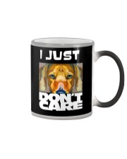 I Just Don'T Care Dachshund Dont Care 1 Color Changing Mug thumbnail