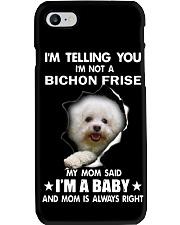 I'm telling you i'm not a bichon frise Phone Case thumbnail