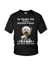 I'm telling you i'm not a bichon frise Youth T-Shirt thumbnail