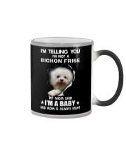 I'm telling you i'm not a bichon frise Color Changing Mug thumbnail