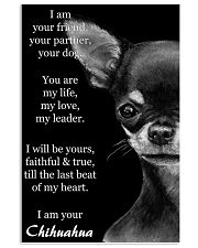 Chihuahua I Am Your Friend Your Partner Your Dog  11x17 Poster front