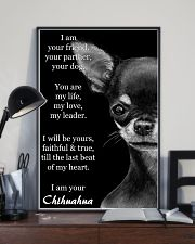 Chihuahua I Am Your Friend Your Partner Your Dog  11x17 Poster lifestyle-poster-2