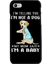 Labrador Dad I'm Telling You I'm Not A Dog Phone Case thumbnail