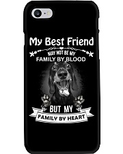 My Best Friend May Not Be My Family By  Dachshund Phone Case thumbnail