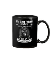 My Best Friend May Not Be My Family By  Dachshund Mug thumbnail