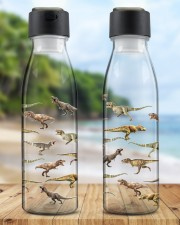 T-Rex Dinosaur Father's Day Gifts For Uncle  Light Up Water Bottle aos-light-up-water-bottle-lifestyle-front-03