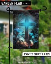 "Lion and god flag 11.5""x17.5"" Garden Flag aos-garden-flag-11-5-x-17-5-lifestyle-front-13"