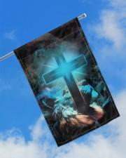 "Lion and god flag 11.5""x17.5"" Garden Flag aos-garden-flag-11-5-x-17-5-lifestyle-front-16"