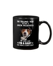 Im Telling you im not a Jack Russell My Mom Said  Mug thumbnail