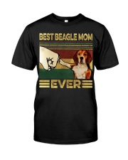 Best Beagle Mom Classic T-Shirt front