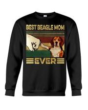 Best Beagle Mom Crewneck Sweatshirt thumbnail