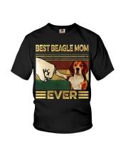 Best Beagle Mom Youth T-Shirt thumbnail