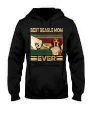 Best Beagle Mom Hooded Sweatshirt thumbnail