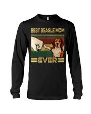 Best Beagle Mom Long Sleeve Tee thumbnail
