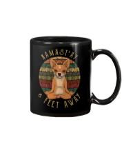 Namast'Ay 6 Feet Away chihuahua Mug thumbnail