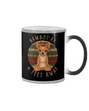 Namast'Ay 6 Feet Away chihuahua Color Changing Mug thumbnail