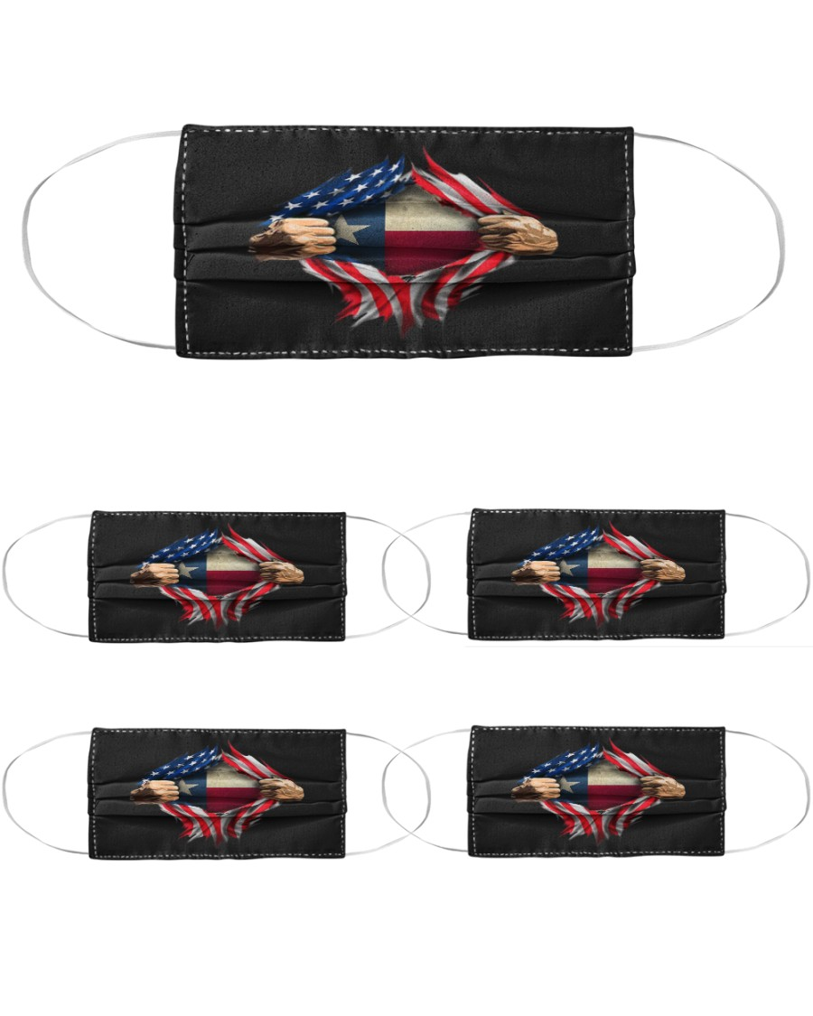 Texas Cloth Face Mask - 5 Pack