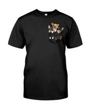 Chihuahua pocket T-shirt Classic T-Shirt front