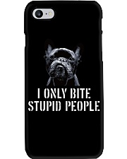 I Only Bite Stupid People frenchbulldog Phone Case thumbnail
