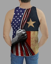 Texas American all over tank All-over Unisex Tank aos-tank-unisex-lifestyle01-back