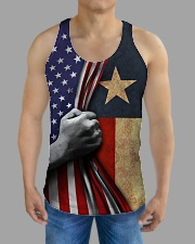 Texas American all over tank All-over Unisex Tank aos-tank-unisex-lifestyle01-front