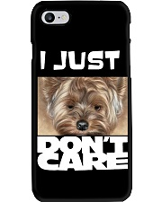 I Just Don'T Care Yorkshire Terrier 2 Phone Case thumbnail