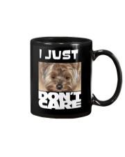 I Just Don'T Care Yorkshire Terrier 2 Mug thumbnail