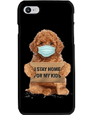I Stay Home For My Kids Poodle Phone Case thumbnail