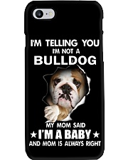 Bulldog I'm Telling You - Funny Dog Tshirts Phone Case thumbnail