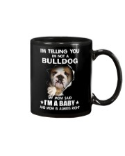 Bulldog I'm Telling You - Funny Dog Tshirts Mug thumbnail