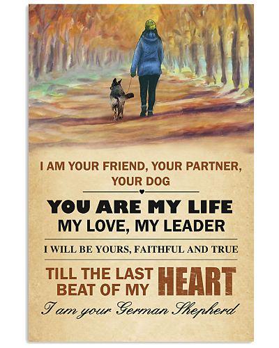 German Shepherd I Am Your Friend Your Partner