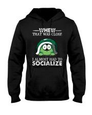 whew that was close turtle shirt Hooded Sweatshirt thumbnail