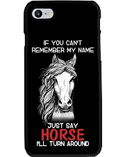 If You Can'T Remember My Name Just Say Horse Phone Case thumbnail