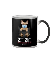 2020 The Year When Sht Got Rea french bulldog Color Changing Mug thumbnail