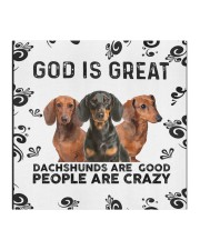 God Is Great Dachshunds Are Good People Are Crazy Face Mask Gifts For Dachshund Lovers  Cloth face mask aos-face-mask-coverlet-lifestyle-front-02