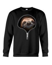 sloth zipper shirt Crewneck Sweatshirt thumbnail