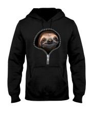 sloth zipper shirt Hooded Sweatshirt thumbnail