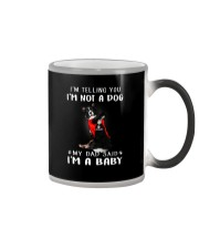 Border CollieI'm Telling You I'm Not A Dog Color Changing Mug tile