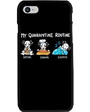 My Quarantine Routine Dalmatian3 Phone Case thumbnail