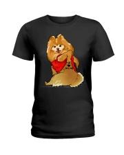 Pomeranian Ladies T-Shirt thumbnail